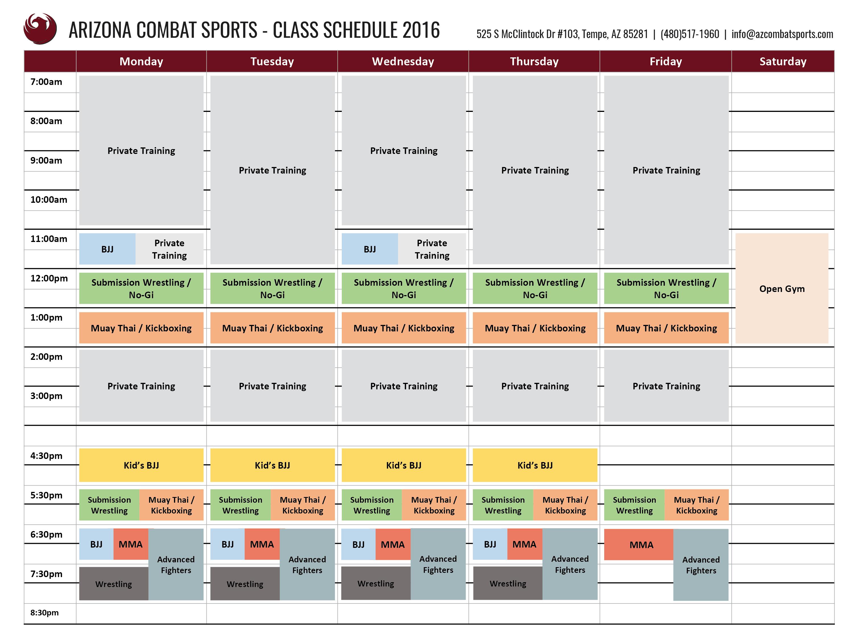 Az Combat Sports 6